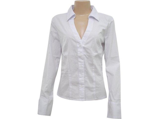 Camisa Feminina Hering H7fn Quibhw Branco