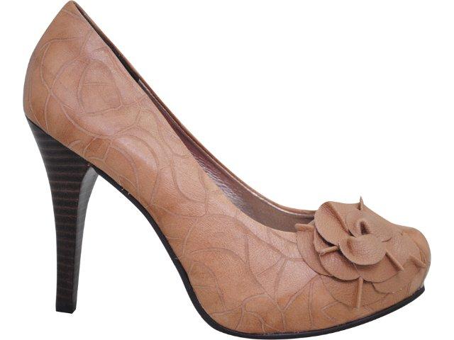 Sapato Feminino Tanara 1965 Creme