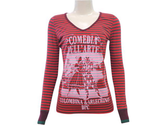 Blusa Feminina Dopping 015651001 Vermelho