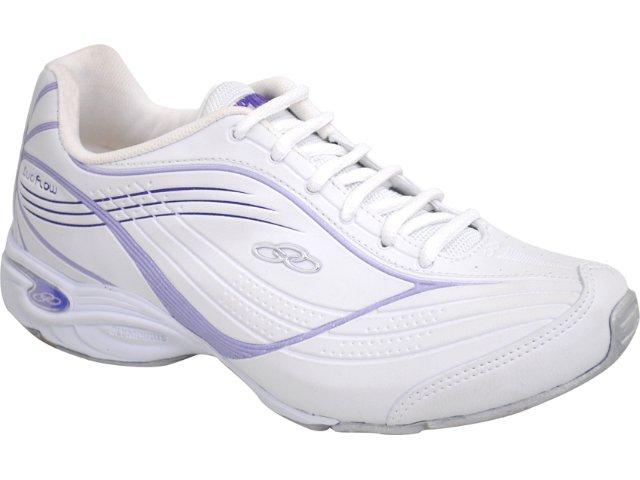 Tênis Feminino Olympikus Energy 568 Branco/lilas