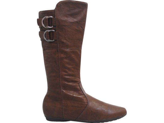 Bota Feminina Piccadilly 705.060 Chocolate