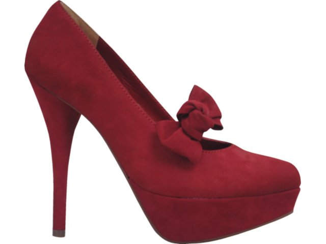 Sapato Feminino Via Marte 11-6903 Vermelho
