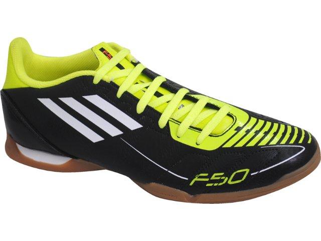 Tênis Masculino Adidas 5 in U44271 Preto/verde