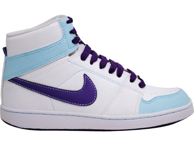Tênis Feminino Nike Backboard 432510-103 Branco/roxo
