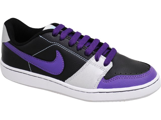 Tênis Feminino Nike Backboard 432507-002 Preto/roxo