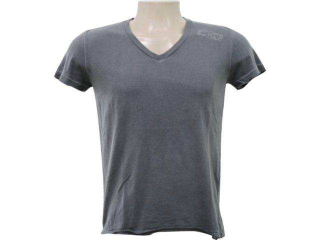 Camiseta Masculina Hering 4c3a Njm10s Grafite