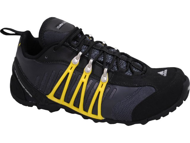 Tênis Masculino Adidas Hellbender G22890 Preto/amarelo