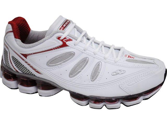 Tênis Masculino Olympikus Symbol 705 Branco/vermelho