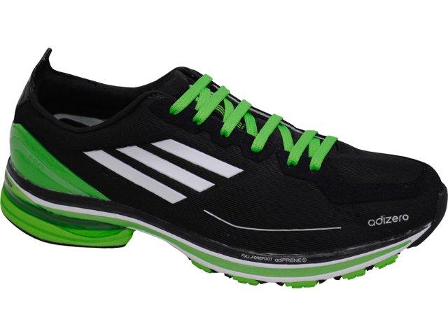 Tênis Masculino Adidas Adizero G42205 Preto/verde