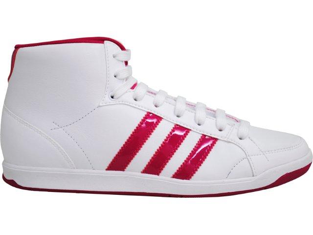 Tênis Feminino Adidas Adi Hoop G43742 Branco/pink