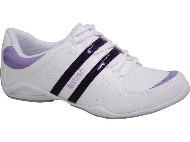 Tênis Feminino Kolosh 8443 Branco/violeta