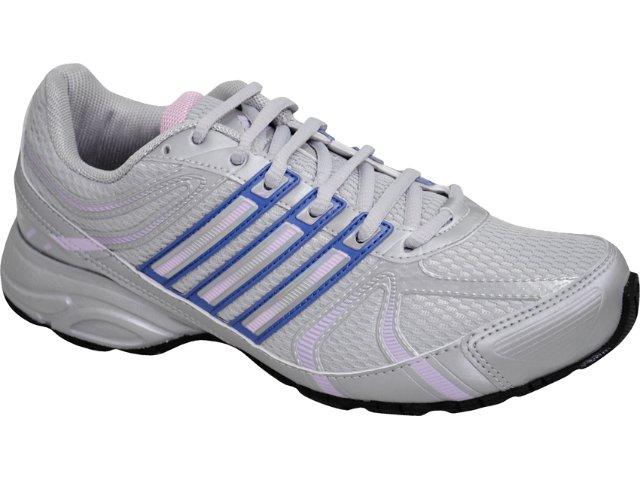 Tênis Feminino Adidas Shikoba Mesh G29661 Cinza/lilas