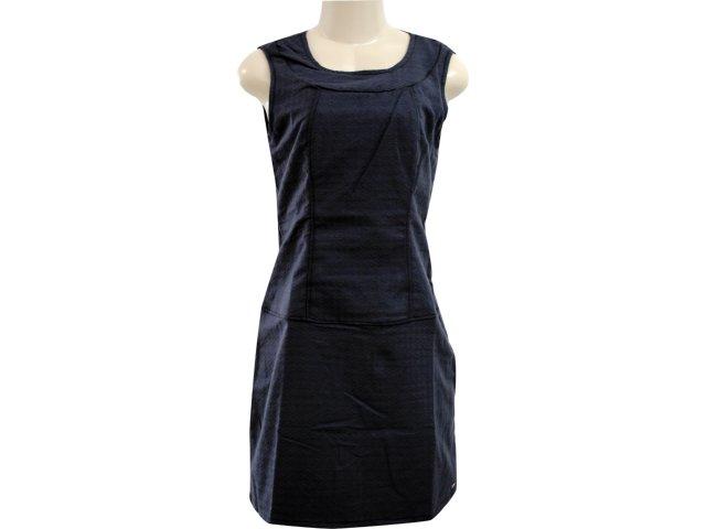 Vestido Feminino Hering H66l Jpse01 Preto
