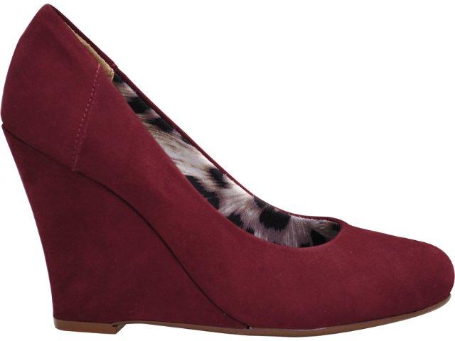 Sapato Feminino Via Marte 11-3708 Bordo