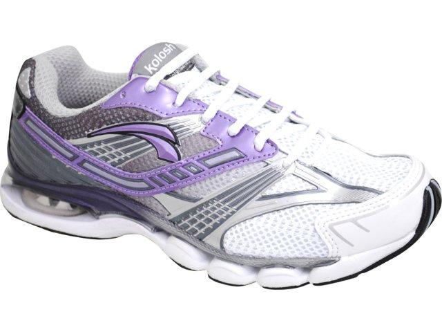 Tênis Feminino Kolosh 9741 Branco/violeta