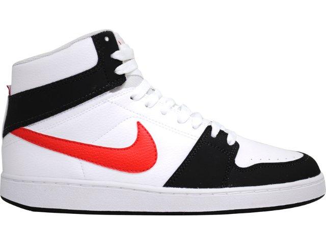 Tênis Masculino Nike Backboard 432515-103 Branco/pt/vermelho