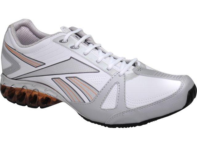 Tênis Masculino Reebok Four  Branco/prata