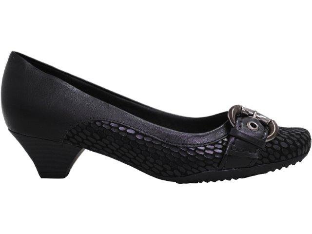 Sapato Feminino Piccadilly 320.064 Preto