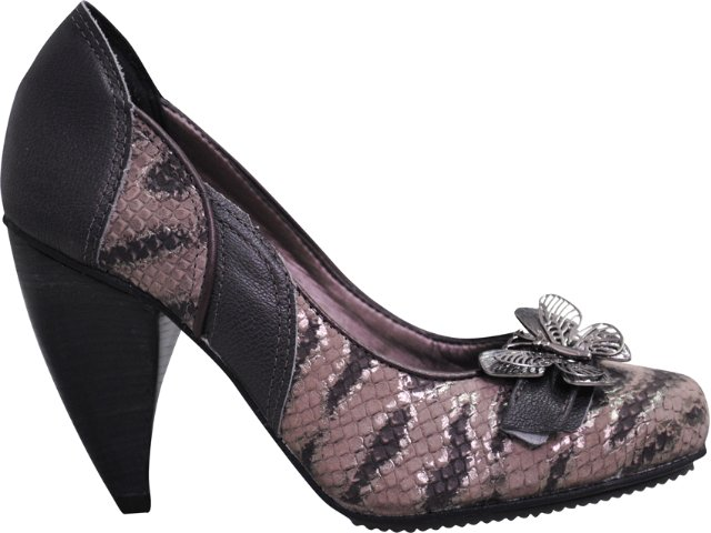 Sapato Feminino Tanara 2252 Grafite
