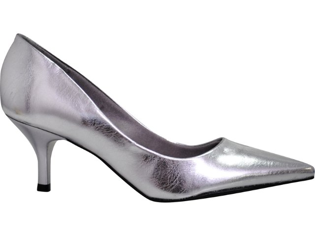 Sapato Feminino Beira Rio 4039400 Prata