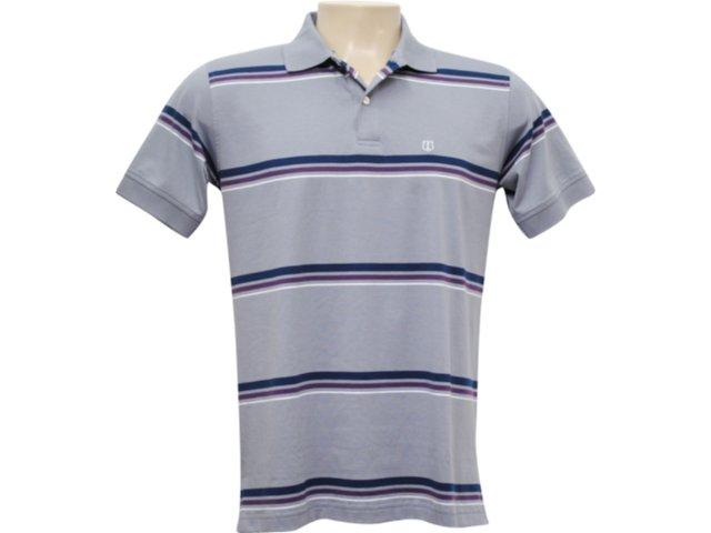 Camisa Masculina Individual 306.001.790 Cinza