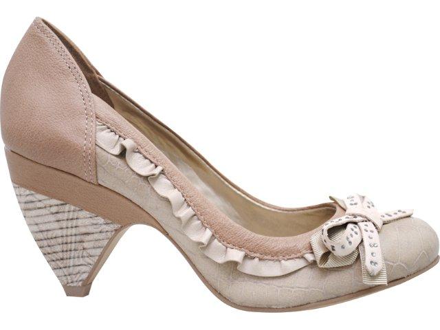 Sapato Feminino Tanara 2341 Pele