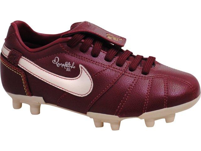 Chuteira Masc Infantil Nike 315576 Bordo