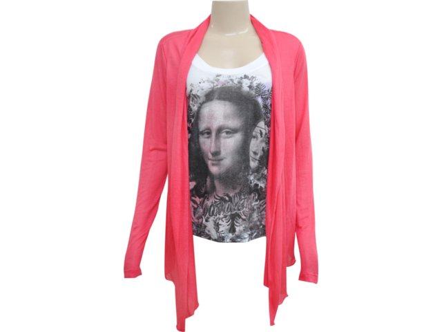 Blusa Feminina Cavalera Clothing 09.01.2068 Rosa