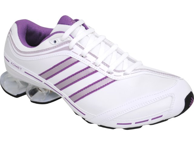 Tênis Feminino Adidas Komet G40016 Branco/lilas