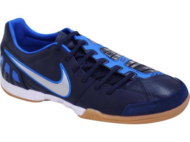 Tênis Masculino Nike 385437-404 Shoot Iii Marinho/azul
