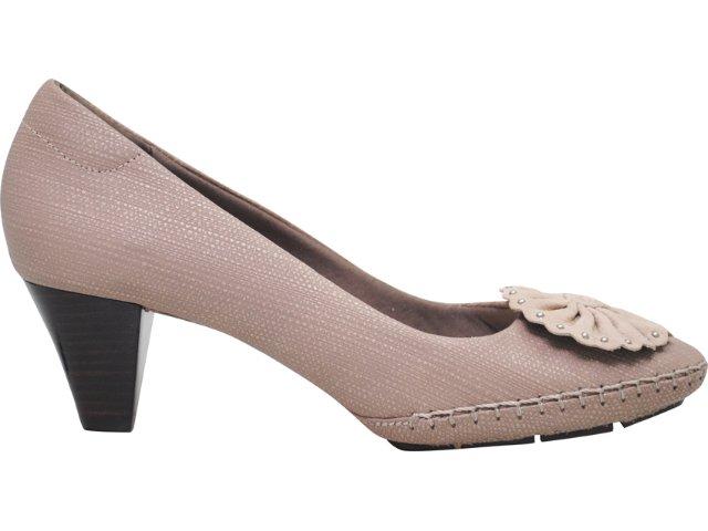 Sapato Feminino Usaflex 7187 Taupe