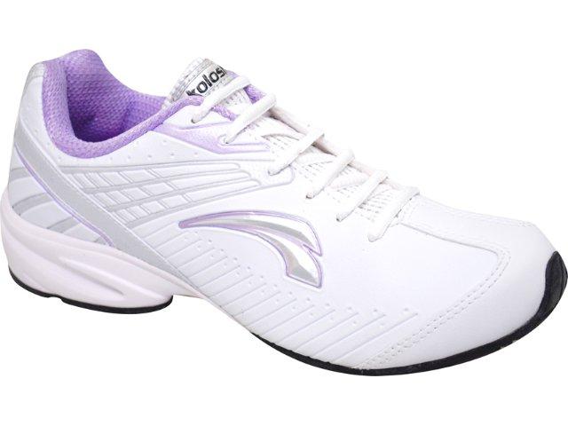 Tênis Feminino Kolosh 9565 Branco/lilas