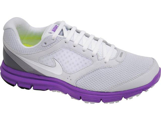 Tênis Feminino Nike Lunarfly 429850-015 Branco/lilas