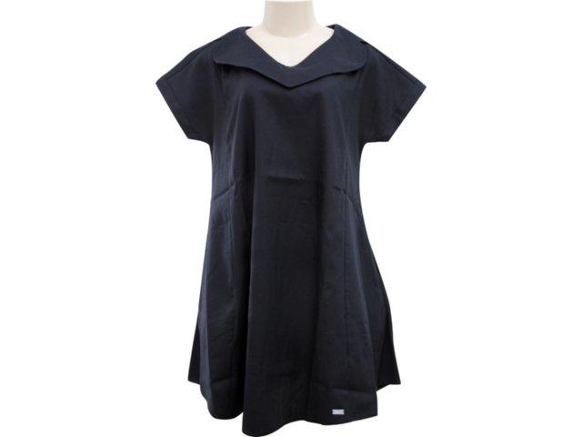 Vestido Feminino Hering Kk55 N10si Preto