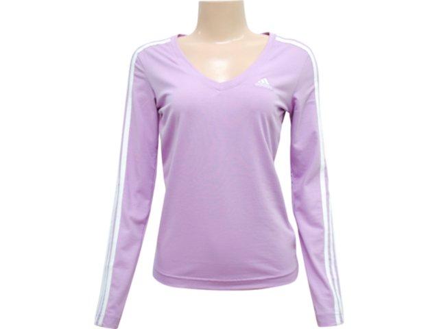 Blusa Feminina Adidas P79502 Lilas
