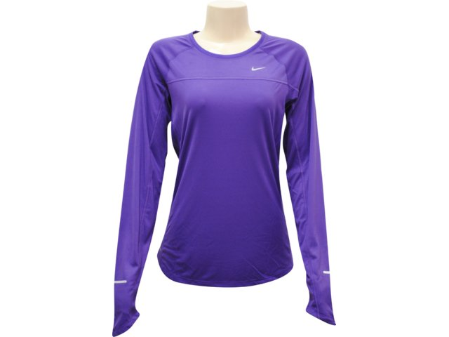 Camiseta Feminina Nike 405255-543 Roxo
