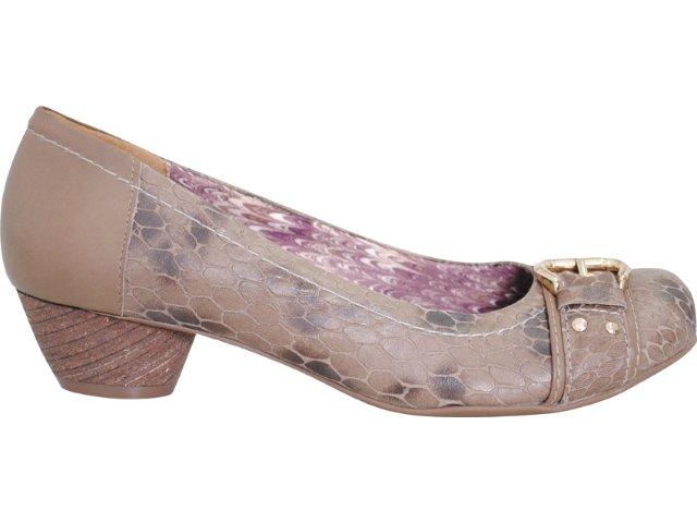 Sapato Feminino Via Marte 11-8201 Capuccino