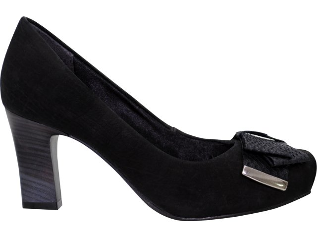 Sapato Feminino Ramarim 118102 Preto