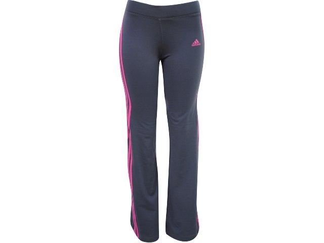 Calça Feminina Adidas P79825 Chumbo/rosa