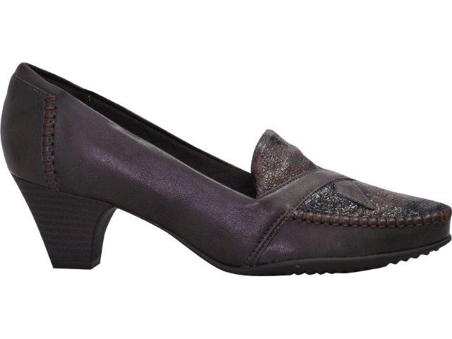 Sapato Feminino Piccadilly 149.004 Marrom