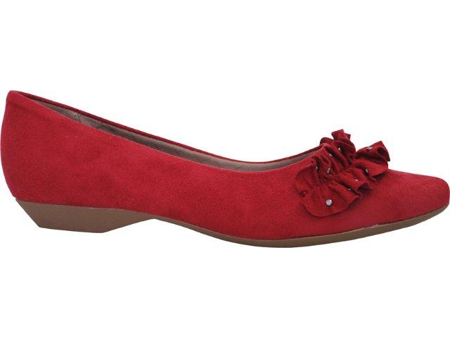 Sapato Feminino Piccadilly 254.029 Vermelho