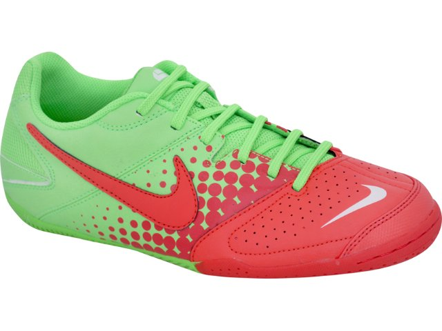 Tênis Masculino Nike 415131-363 Elastico Verde/laranja