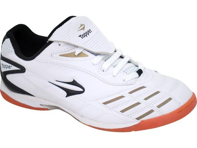 Tênis Masculino Topper Champion 4116887 Branco/ouro