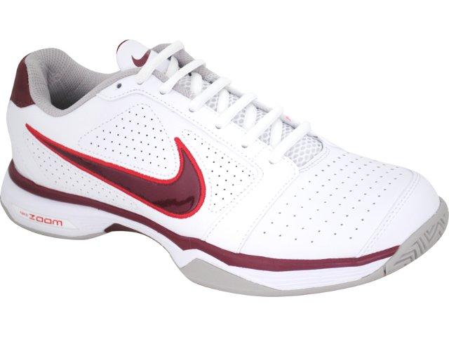 Tênis Masculino Nike 431842-101 Zoom Vapor Branco/vermelho