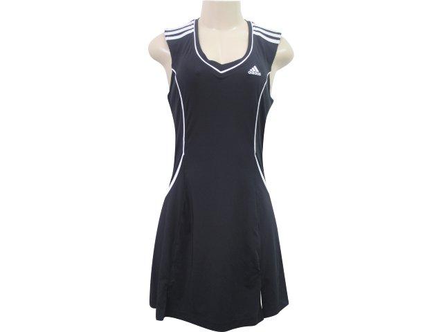 Vestido Feminino Adidas E15432 Preto