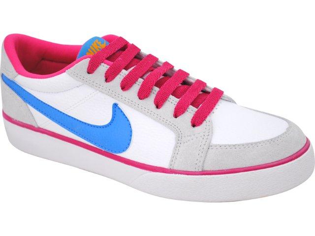 Tênis Feminino Nike 431910-102 Mrtyr Branco/azul/rosa