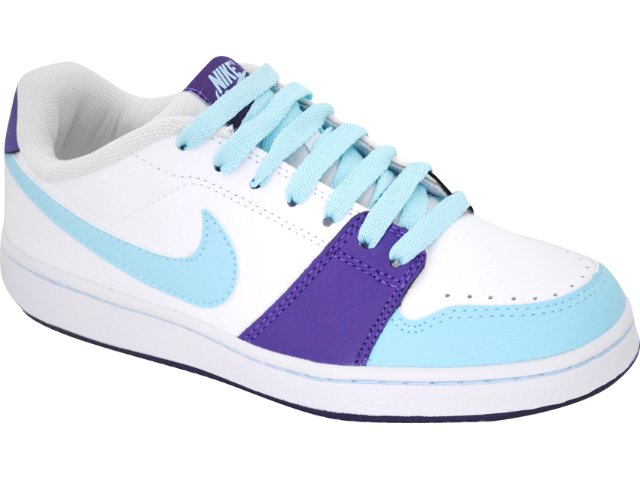 Tênis Feminino Nike Backboard 432507-103 Branco/roxo