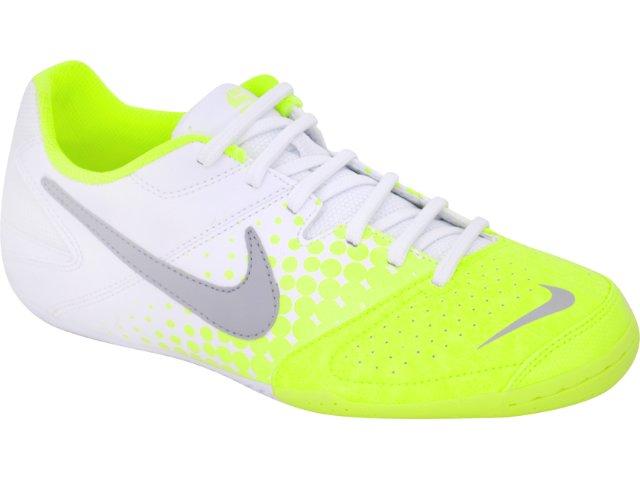 Tênis Masculino Nike 415131-107 Elastico Bco/verde Limão