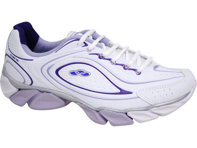 Tênis Feminino Olympikus Trace Branco/lilas
