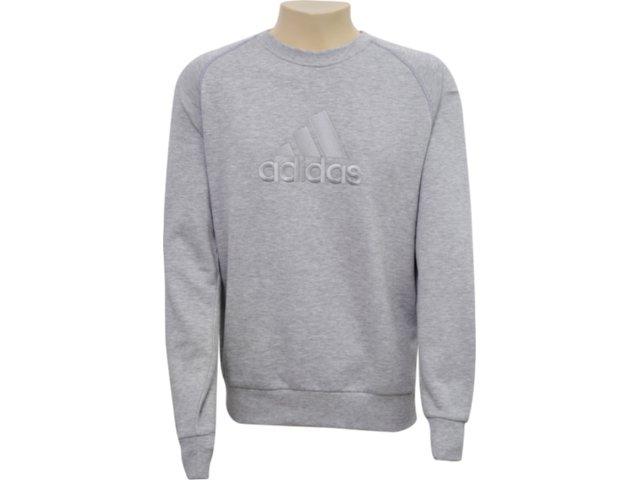 Blusão Masculino Adidas E15121 Cinza